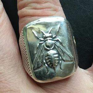 David Y Bee &18k Ring Sz 10